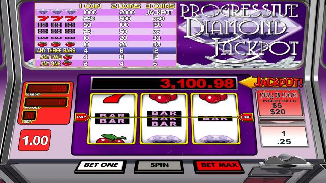 Progressive Diamond Jackpot 3