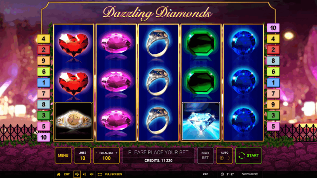 Dazzling Diamonds 10