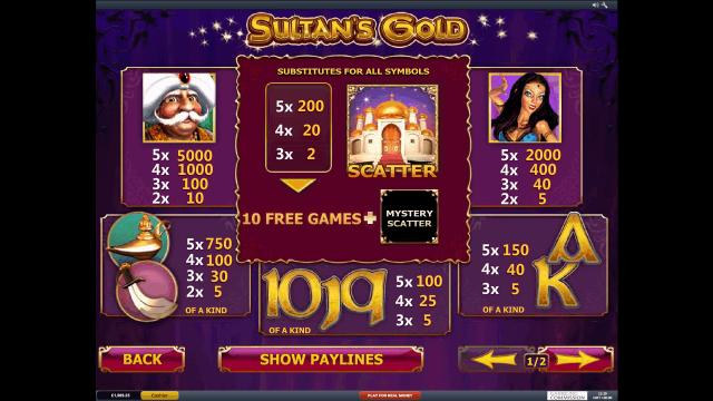 Sultan's Gold 3