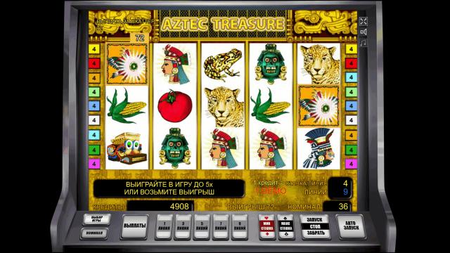 Aztec Treasure 6