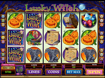Lucky Witch 4
